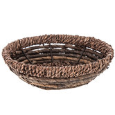 Round Banana Leaf Basket